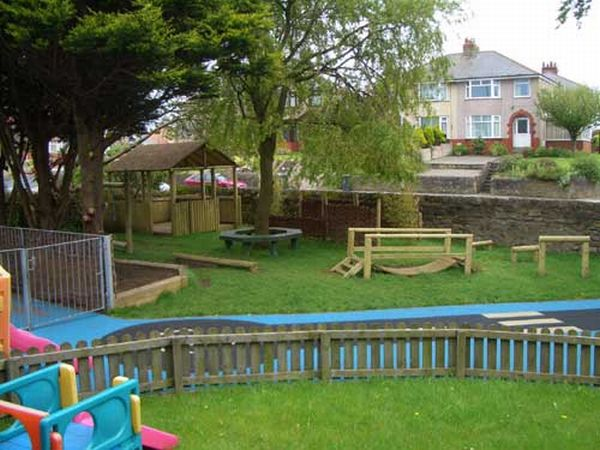 gallery for kids backyard play area