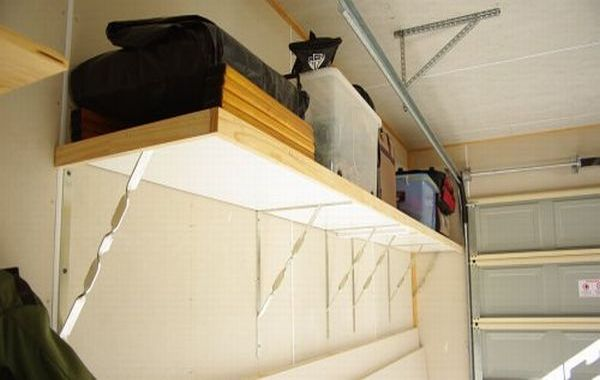 Build Garage Storage Shelves Plans
