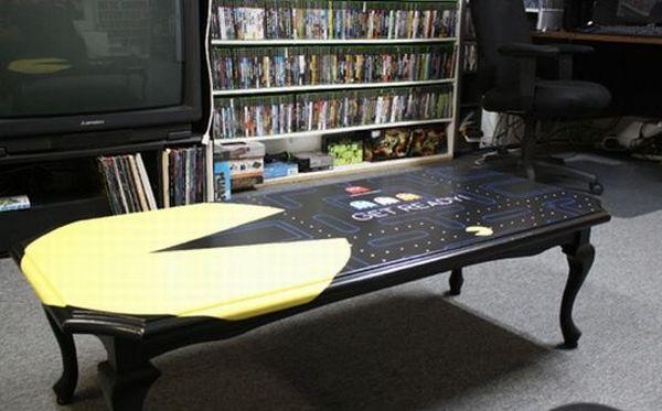 Pac-Man coffee table