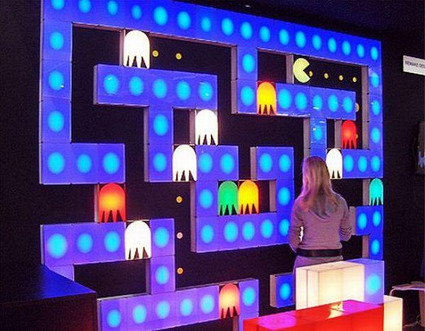 Pac-Man Lighting blocks