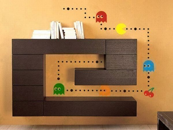 Pac-Man vinyl stickers
