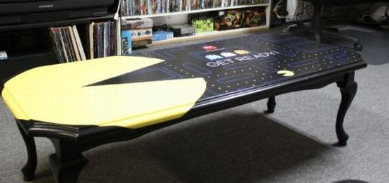 pacman game table