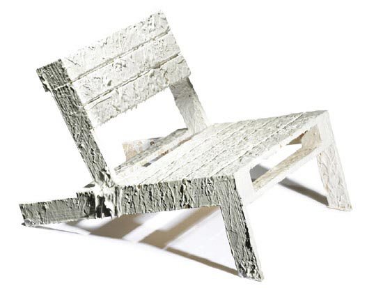 pallet chair by rachel whiteread