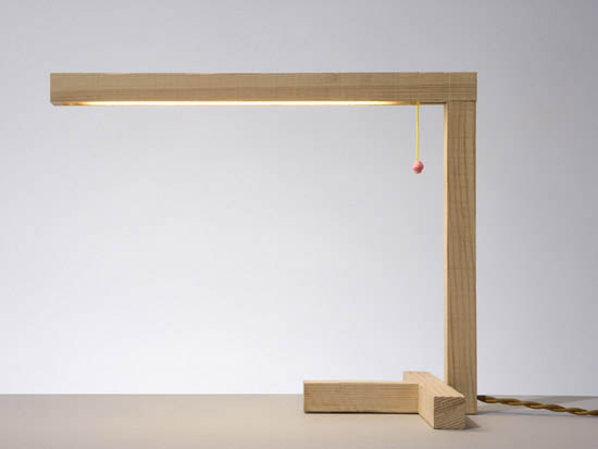 pallet table lamp