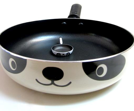 Panda Frying Pan