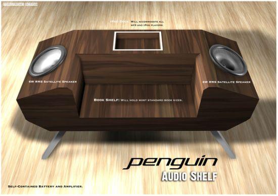 penguin audio shelf