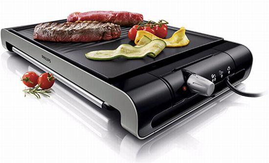 philips indoor electric grill hd4419