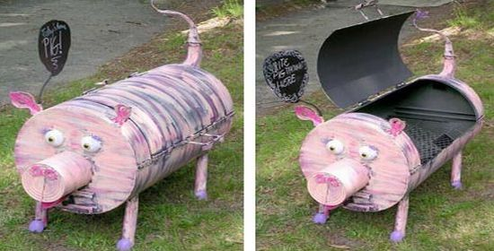 piglet barbecue