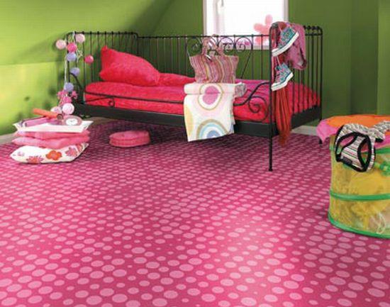 pink vinyl flooring