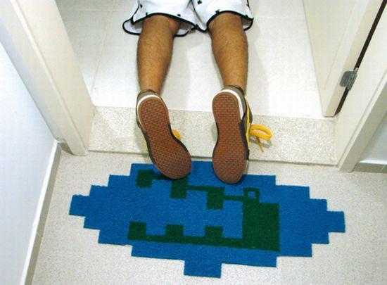 pitfall croc doormat