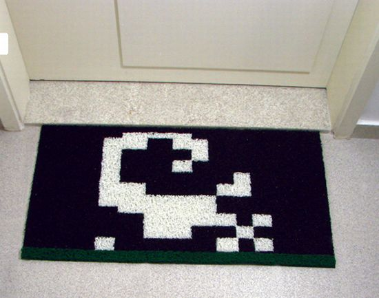 pitfall scorpion doormat