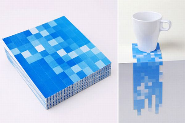 Pixel Drink Coasters