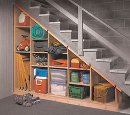 Plansnow under stairs storage
