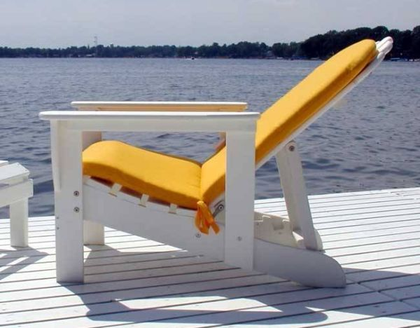 Plastic Resin Adirondack Chairs