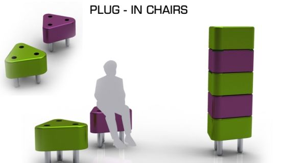 plug in chairs