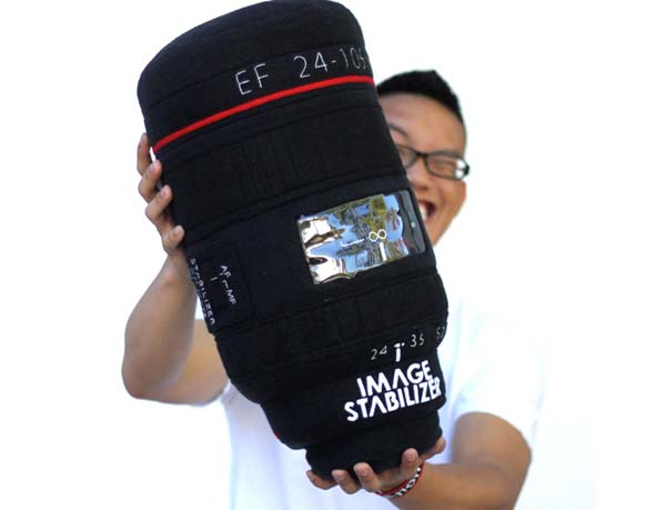Plushtography Lens Pillow