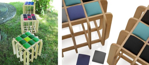 Poduszak cube seating