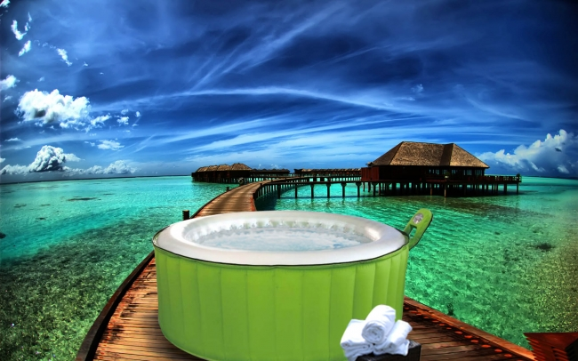 portable hot bathtubs