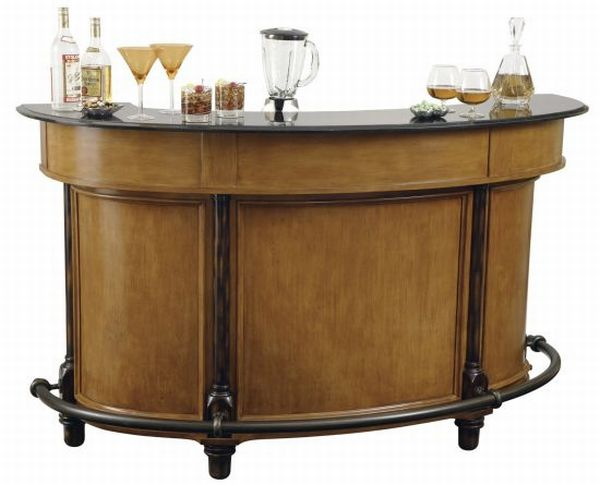 Powell Bourbon Street Yorktown Cherry Home Bar