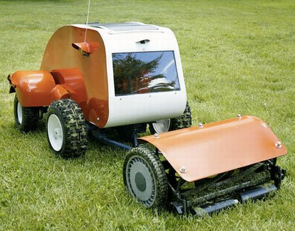 Primateprogress solar powered lawn mower