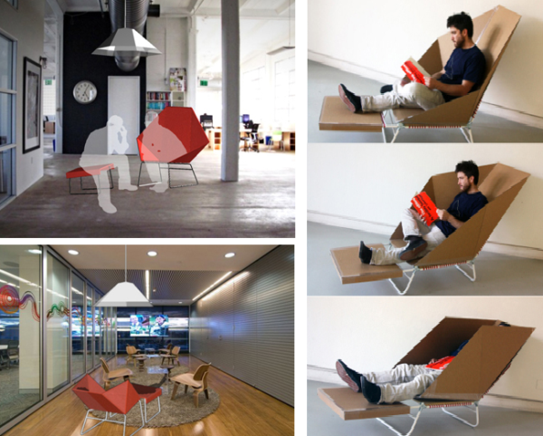Perfect Prism Chair Can Also Be A Great Place For Reading. Resting In Various  Positions,