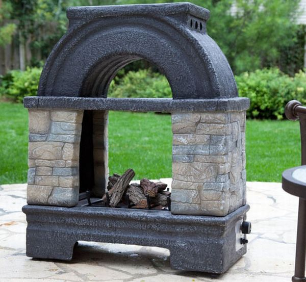 10 Outdoor Fireplace Designs For Those Chilly Winter Evenings Home Improvement Guide By Dr Prem