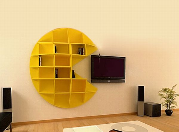 Puckman bookcase