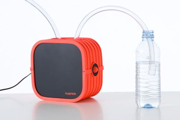 Pumpkin portable water filtration system