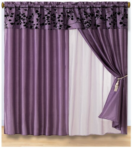 Curtains For Large Picture Windows Dark Red Sheer Curtains