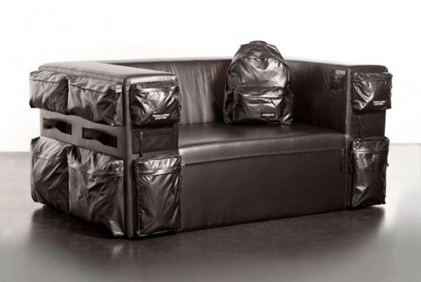 Quinze & Milan and Eastpak sofa