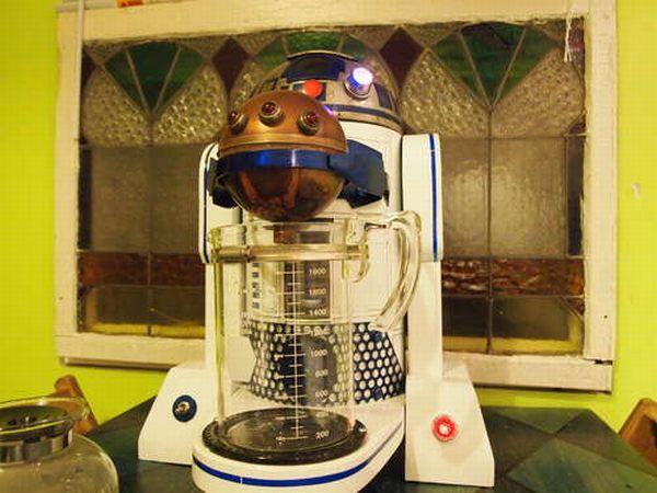 R2-D2 coffee maker