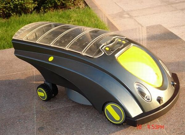 RBZG001 Solar Powered Lawnmower
