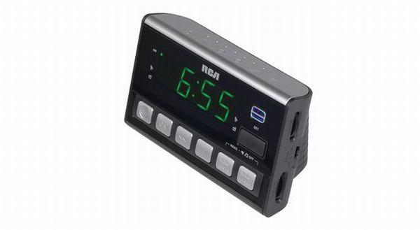 RCA Voice Activated Clock Radio
