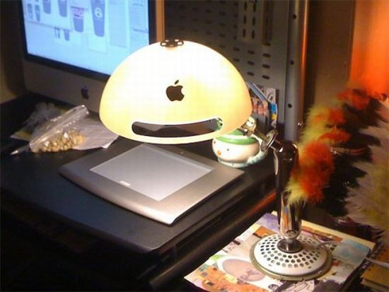 recycled imac g4 lamp 1