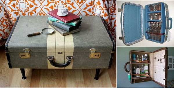 Recycled Suitcase