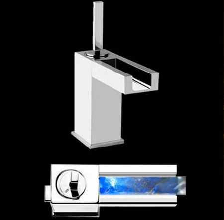 rettangolo bathroom faucet by gessi