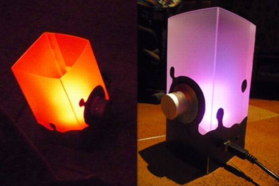 rgb mood lamp