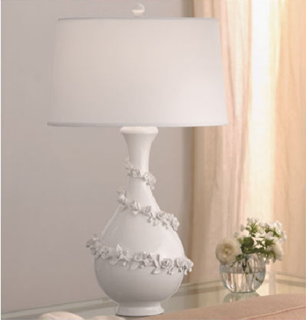 This White Fabric Shade Is Translucent And Allows High Light Output Filling  The Room With Its Beautiful Colors. It Is Embedded With A Delightful Spiral  Of ...
