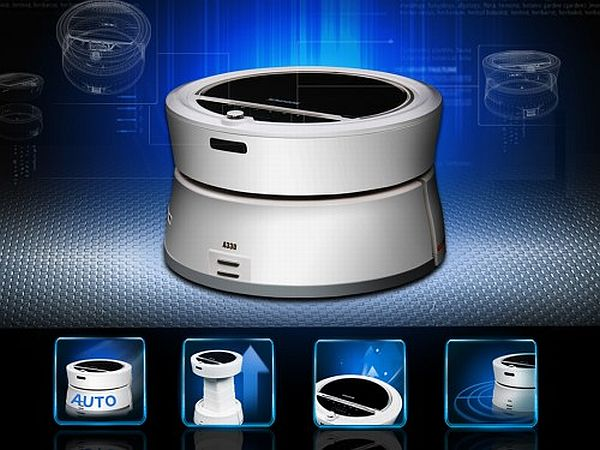 Robotic air purifiers
