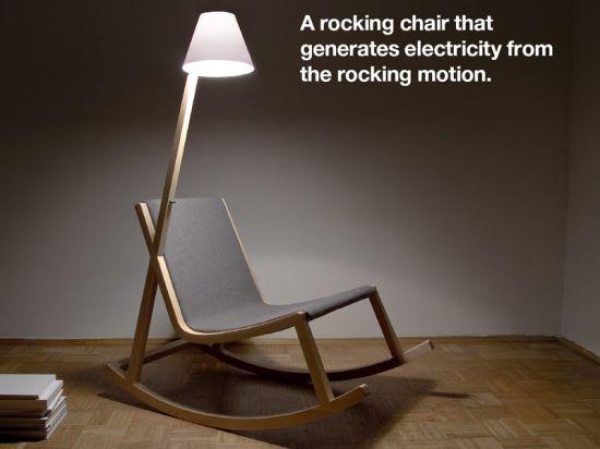rocking chair rochus jacob  green life  3