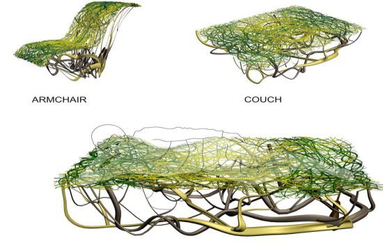 eco chic furniture baby yet another sustainable collection of furniture for your ecofriendly den root designed by the exceptionally talented designer elena veselkova rooteco chic home furniture inspired root systems trees