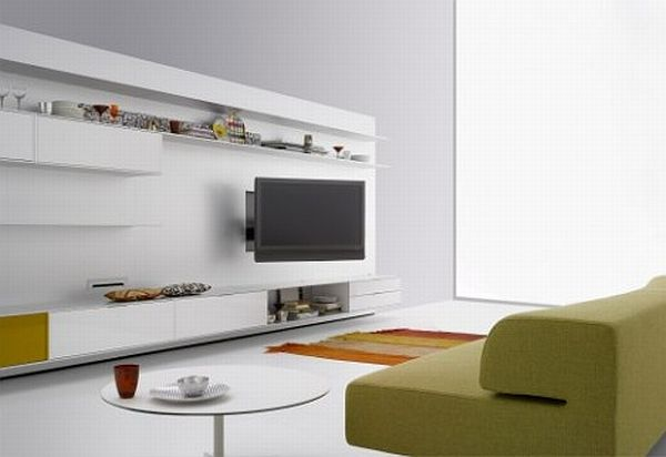 rotating TV stand