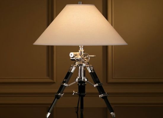 Royal Marine Tripod Table Lamp Is Masculine And Classy