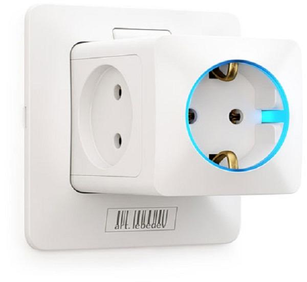 Rozetkus 3D power socket concept
