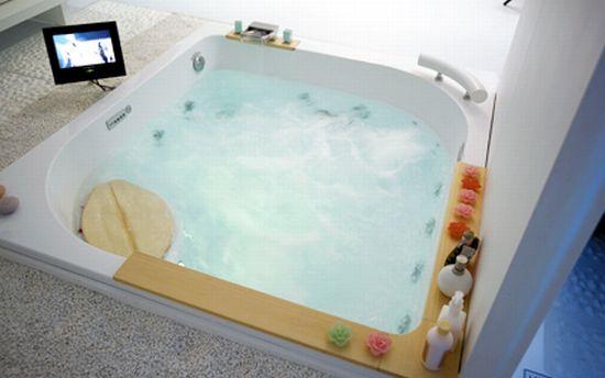 sb 3801 twin whirlpool bath tub