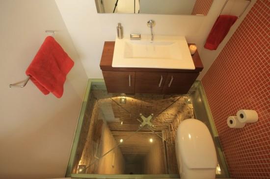 See-Through Bathroom