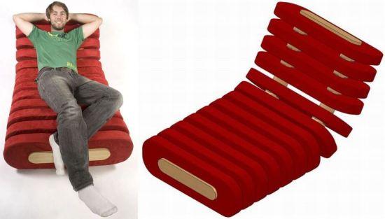 segmented chair