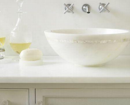 shagreen marble basin