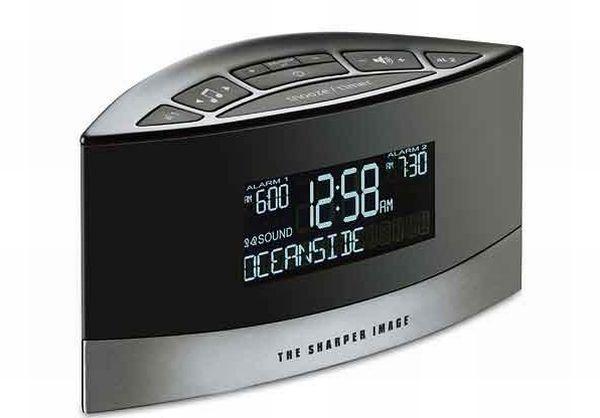 Sharper Image EC-B100 Sound Soother Alarm Clock