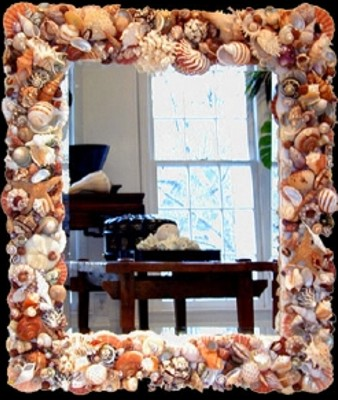 shell mirror by ds designs 2263